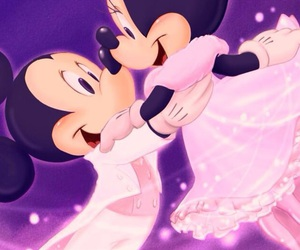 disney, background, and mickey mouse image