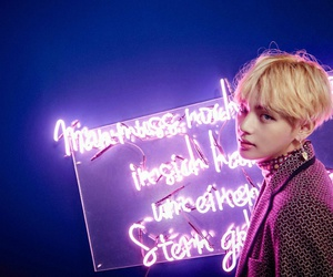v, taehyung, and bts image