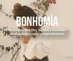 bonhomía, words, and sencillez image