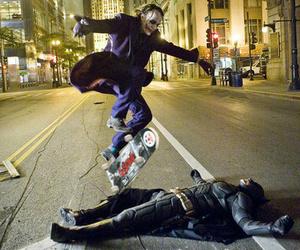 batman, joker, and skate image