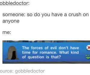 funny, crush, and evil image