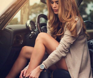 beauty, car, and hair image