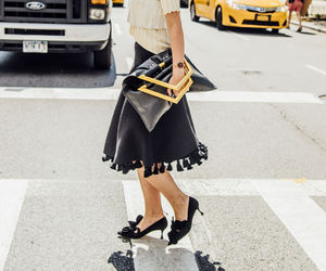 New York Fashion Week, street style, and tommy ton image