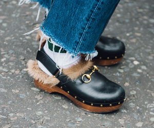 denim, gucci, and street style image