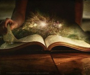 book, magic, and fantasy image