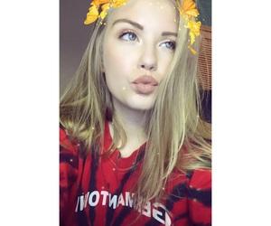 makeup, liquid lipstick, and nyx suede lip image