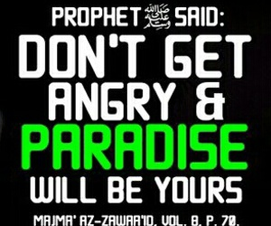 anger, muslim, and paradise image