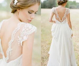 bohemian, chiffon wedding gown, and destination image