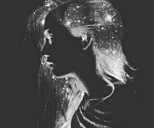 stars, art, and galaxy image