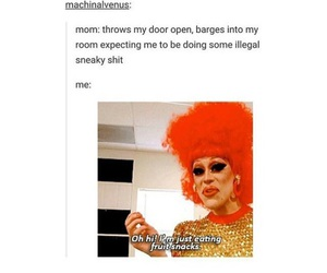 drag queens, funny, and tumblr image