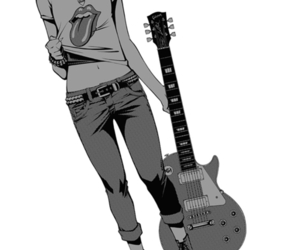 gibson, grunge, and k-on image