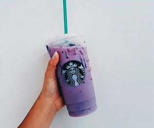 starbucks, drink, and purple image