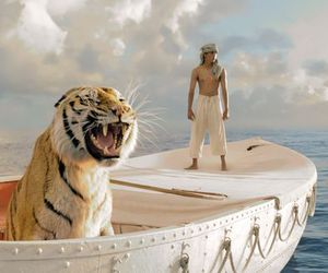 movie, Life of Pi, and tiger image