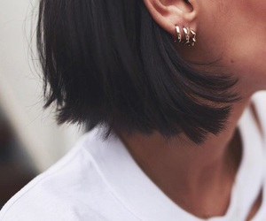 fashion, earrings, and indie image