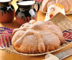 dia de muertos, mexico, and pan de muerto image