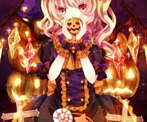 anime, Halloween, and kawaii image