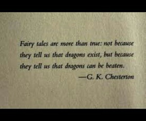 quote, dragons, and fairytale image