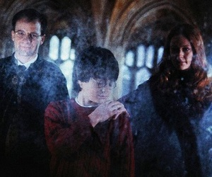 harry potter, family, and james potter image