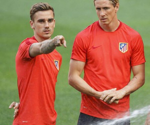 football, atletico madrid, and antoine griezmann image
