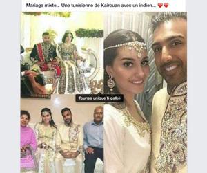 couple, mariage, and mix image
