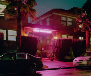 aesthetic, dark, and neon image
