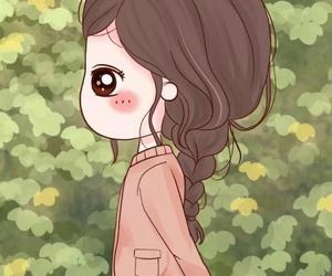 girl, illustration, and kawaii image
