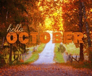 october and fall image