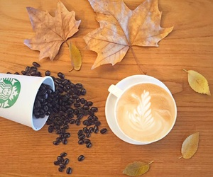 brand, breakfast, and fall image