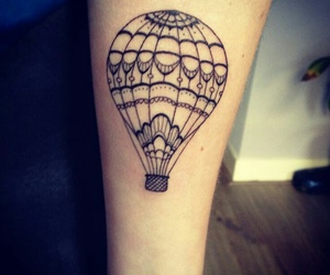 balloons and tattoo image