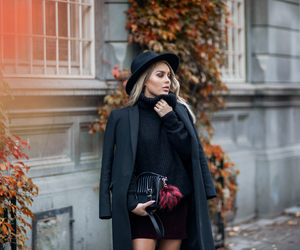 fashion, angelica blick, and black image