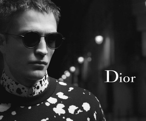 dior, rob pattinson, and karl largerfeld image