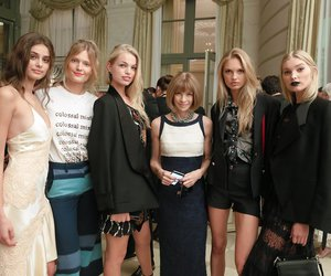 Anna Wintour, elsa hosk, and taylor hill image