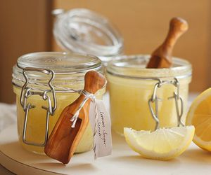 lemon, scrub, and sugar image