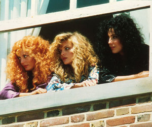 michelle pfeiffer, susan sarandon, and cher image