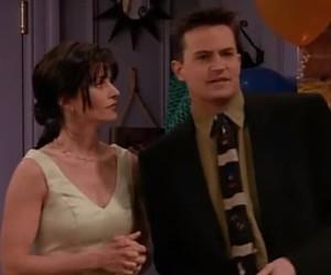 chandler, Joey, and monica image