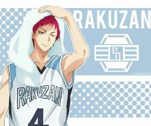 anime, kuroko no basket, and akashi image