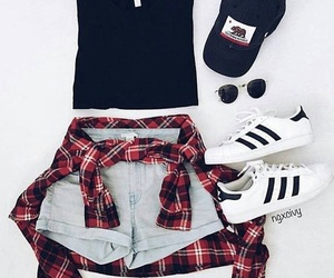 clothes, adidas, and style image