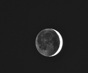 moon, wallpaper, and black and white image