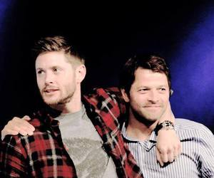 Jensen Ackles, misha, and supernatural image