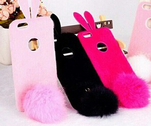 bunny, case, and fashion image