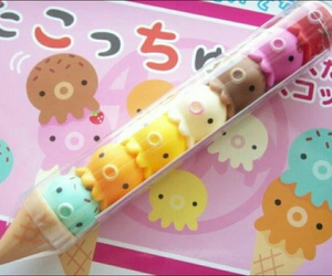 kawaii, ice cream, and japan image