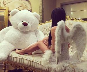 angel, bear, and luxury image