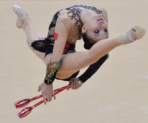 clubs, london 2012, and rhythmic gymnastics image