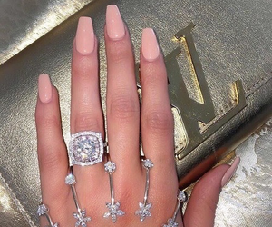 nails, fashion, and luxury image