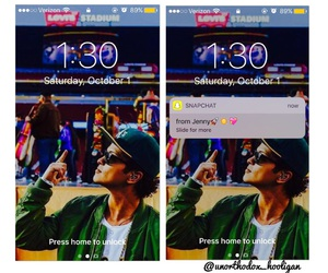 bruno, hooligans, and iphone image