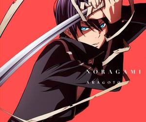 anime, noragami, and yato image
