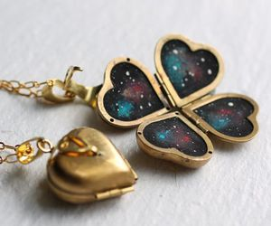 galaxy and heart image