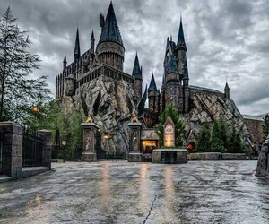 harry potter, hogwarts, and orlando image