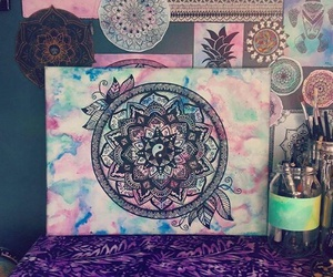 colors and zentangle image