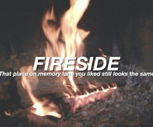 arctic monkeys, song, and fireside image